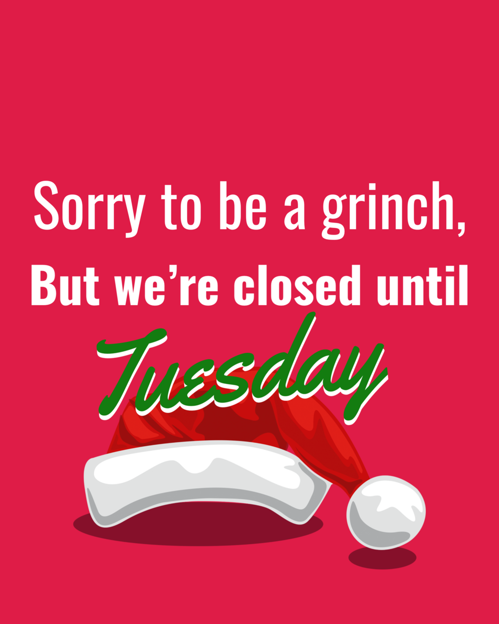 closed for christmas geaux crossfit - Closed For Christmas