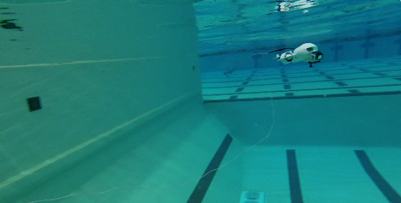 Testing our first beta with a full size GoPro Hero3