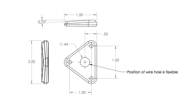 Schematic for side thruster interface