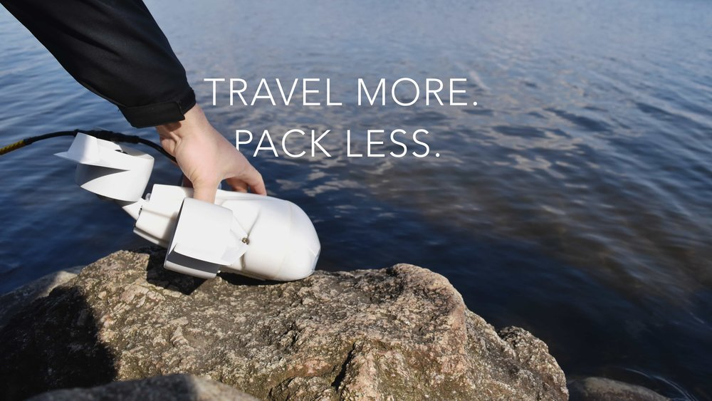 Travel more. Pack less.