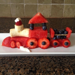 Watermelon Fruit Train