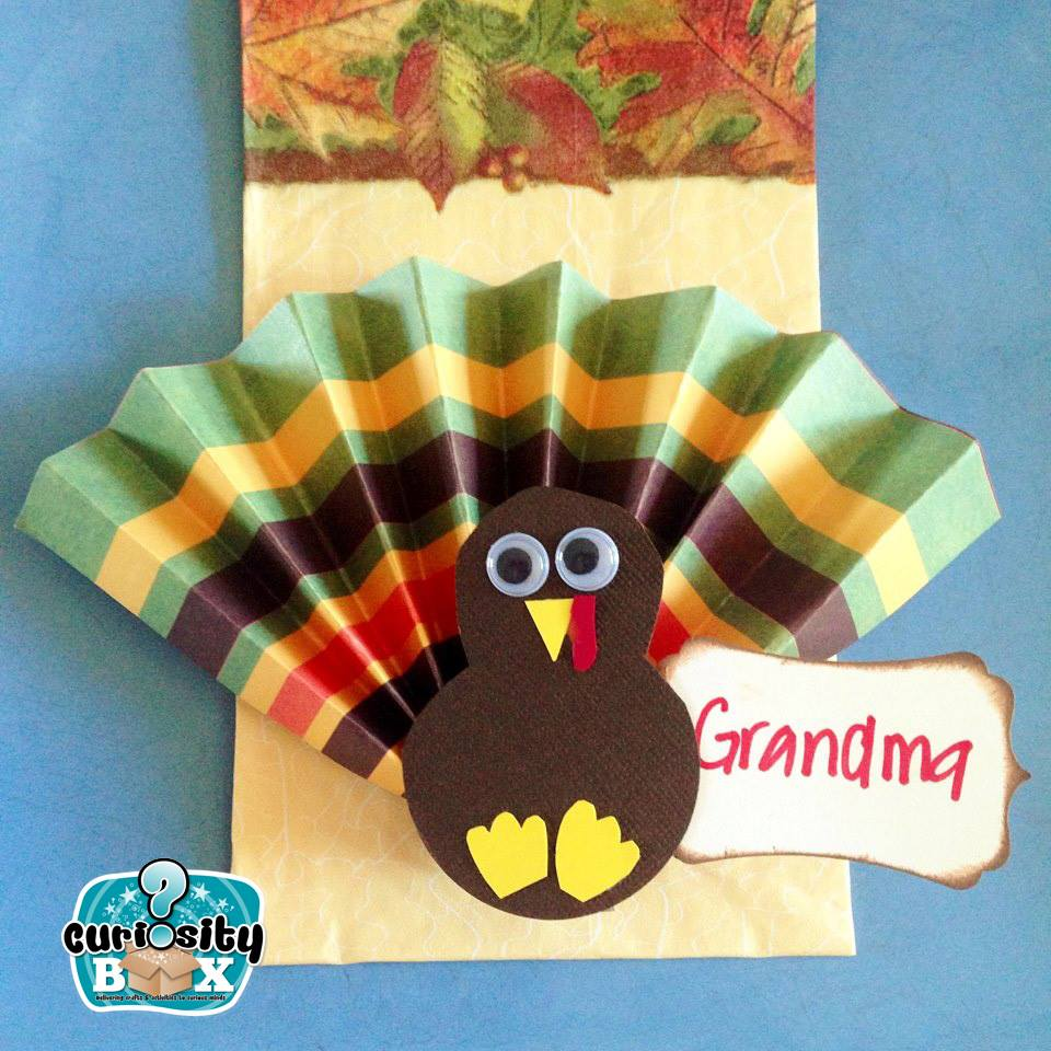 Turkey Place Setting Craft