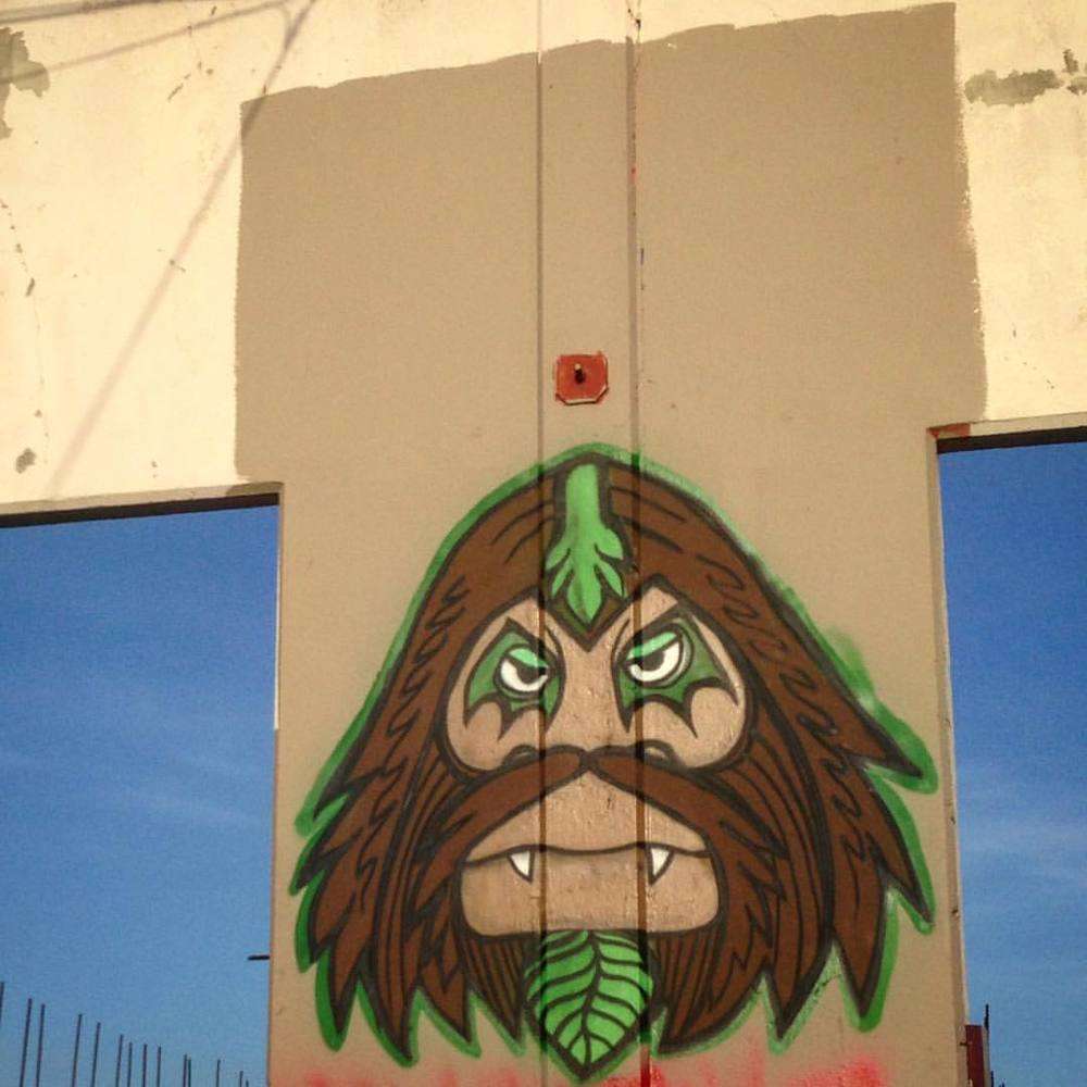 Sasquatch me go (at West Oakland, Oakland, California)