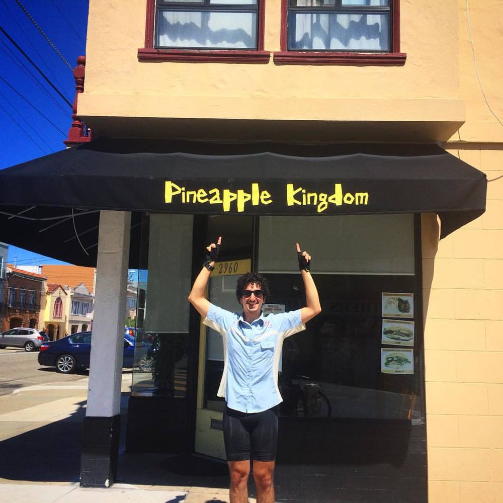 Vote Ben for Pineapple King 2016. #feelthepine   (at Pineapple Kingdom)