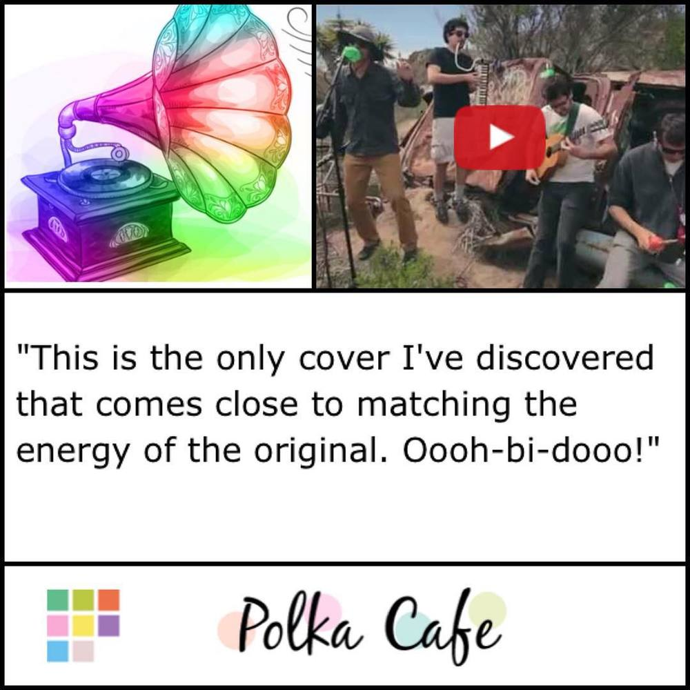 "Apparently our music has made it all the way to INDIA (!!!!). Thank you to Shruti of @polka.cafe for including our cover of ""Wanna Be Like You"" on your music summer playlist. Check the whole thing out here: http://www.polkacafe.com/polka-playlist-24th-april-1254.html"