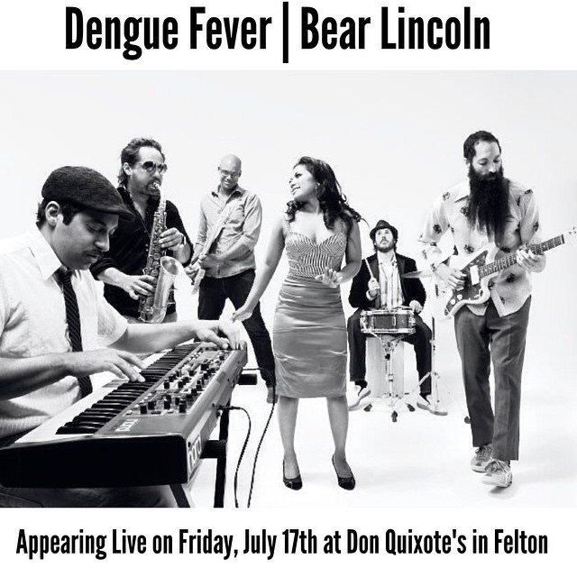 Our next show is in the Santa Cruz mountains with @denguefevermusic on 7/17!