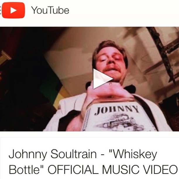 "Our buddies @johnnysoultrain debuted their first music video, and it's a barnstormer! Directed by our main man Alex Mallonee (who made Revival and The News). Watch ""Whiskey Bottle"" and enjoy it!"