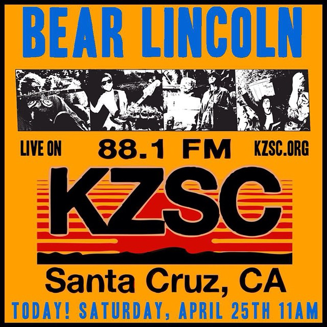 In preparation for our show at The Crepe Place tonight, we're performing live on @kzsc Local Brew at 11am today! Tune in at 88.1 fm in Santa Cruz or online at  http://kzsc.org