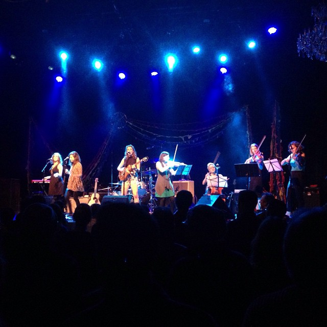 Kendra McKinley does what she wants on stage at the Fillmore's first-ever Ladies Night #ohwhatanight (at The Fillmore)