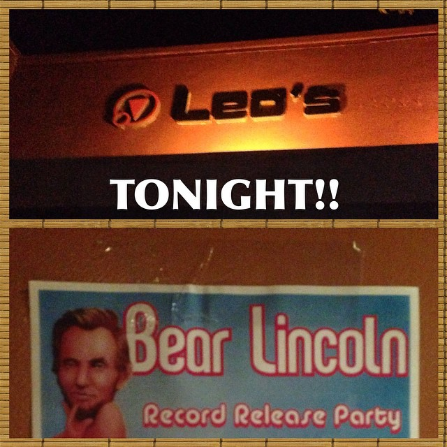 Meet me at the venue! It's going down. Meet us at Leo's! It's going down. (at Leo's Music Club)