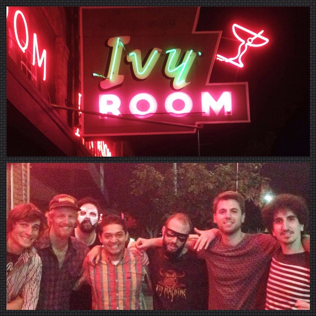 Thank you to the Ivy Room for hosting Bear Lincoln's monthly for the last 10 cycles 'round the moon. Last Friday was our FINAL residency show at the Ivy.    And while we'll miss drinking mezcal with Ronaldo and watching risqué movies on its many many TV screens, we're excited for future shows in the East Bay and the opportunity to play here again sometime soon (trust us, we'll be back!!!)….     Thank you all the good folks in Albany treating us like kings; keep in touch for future East Bay shows (hint hint December 13th) and mucho mucho mas.    Adios,  -BL