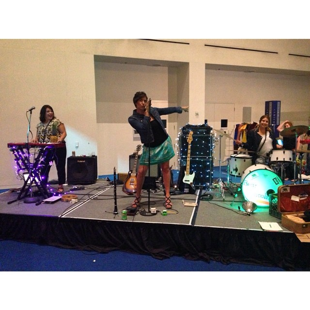 Lady Lincoln - Live at the SJ Tech Museum last Thursday.