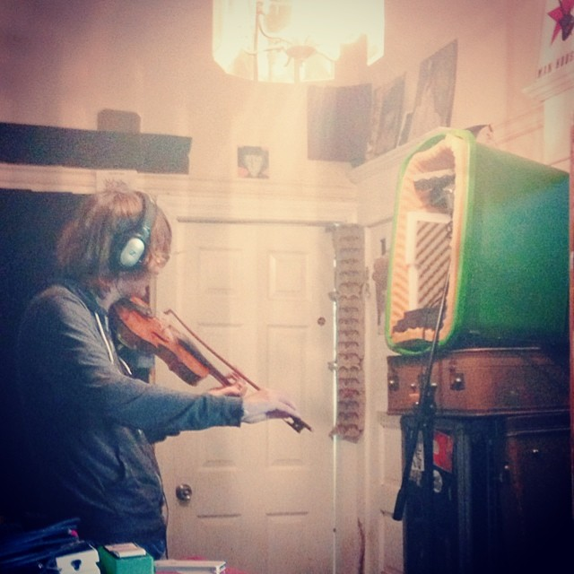 Here's a griddle of a #riddle for you: what instrument is this fellow named Jan playing on our next record? I'll give you a hint: it rhymes with middle, riddle, and twiddle (but not oboe).