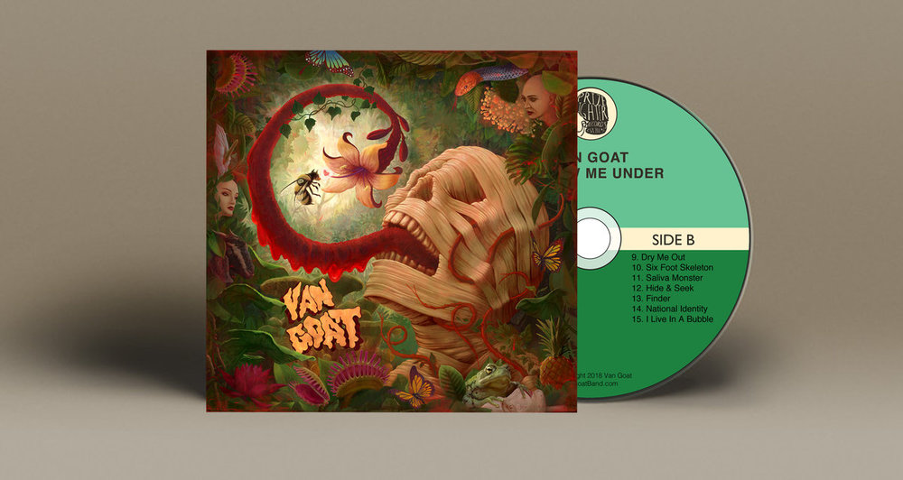 Van Goat - Follow Me Under (CD)