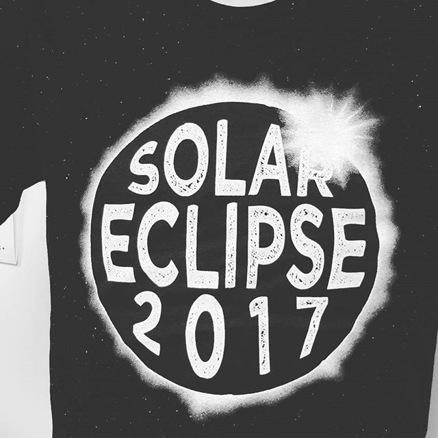 Who's ready for the eclipse? You asked for an eclipse shirt and we delivered! They are available for a LIMITED TIME ONLY so don't miss out! Did we mention they can glow in the dark? Stop by today!! #totalsolareclipse #2017 #olathetshirt #eclipsetshirt #glowinthedark #cooltshirt #totality #eclipse