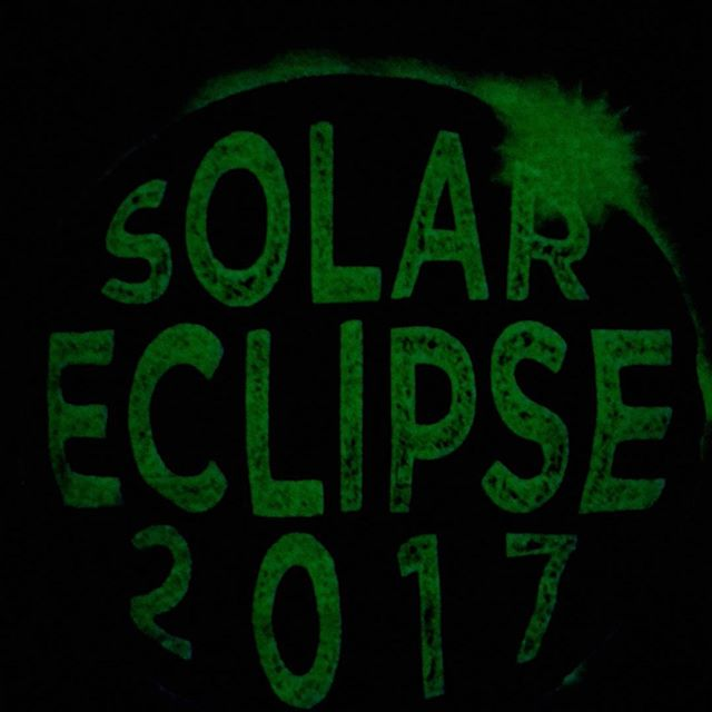 Countdown to eclipse time! We have a few left if you want to stop by today before the big event! #lastchance #solareclipse #tshirt