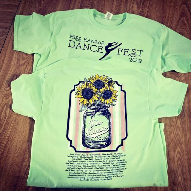 Who's ready for the 2019 Miss Kansas Dance Fest? If you didn't have a chance to preorder, they will have stock to sell at the festival while supplies last! Good luck to all the participants! #misskansas #dance