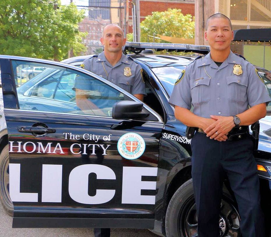 Oklahoma Police use the NCJOSI