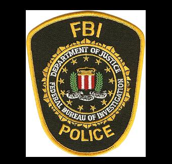 FBI Police Officer Patch