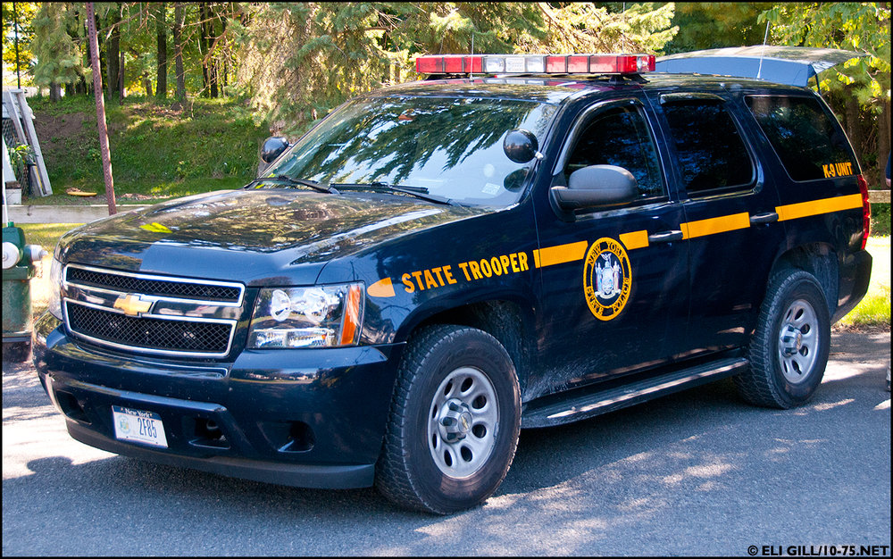 NYS Trooper SUV