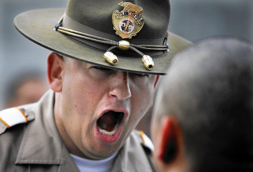 la county sheriff exam police test info
