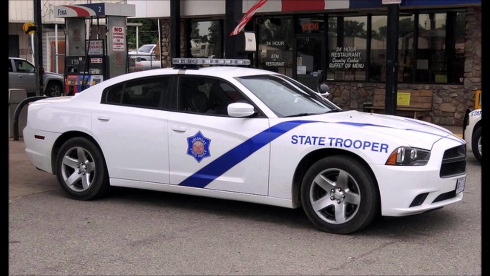 The Arkansas State Troopers do not have a written exam in their hiring process.
