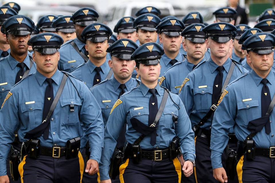The New Jersey State Police use the LEE (LEAB) for their Written Exam