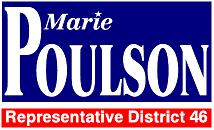 Re-elect Marie Poulson