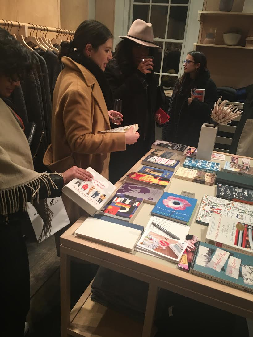 At a Book Swap event, January 2017.