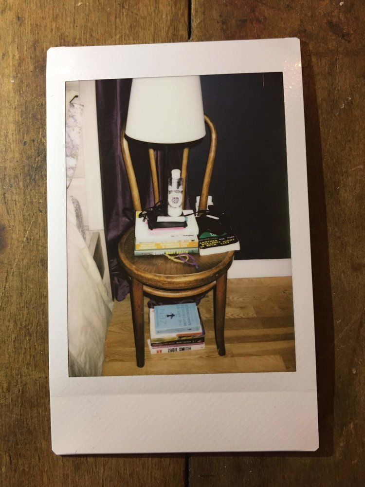 Hannah Baxter's Nightstand
