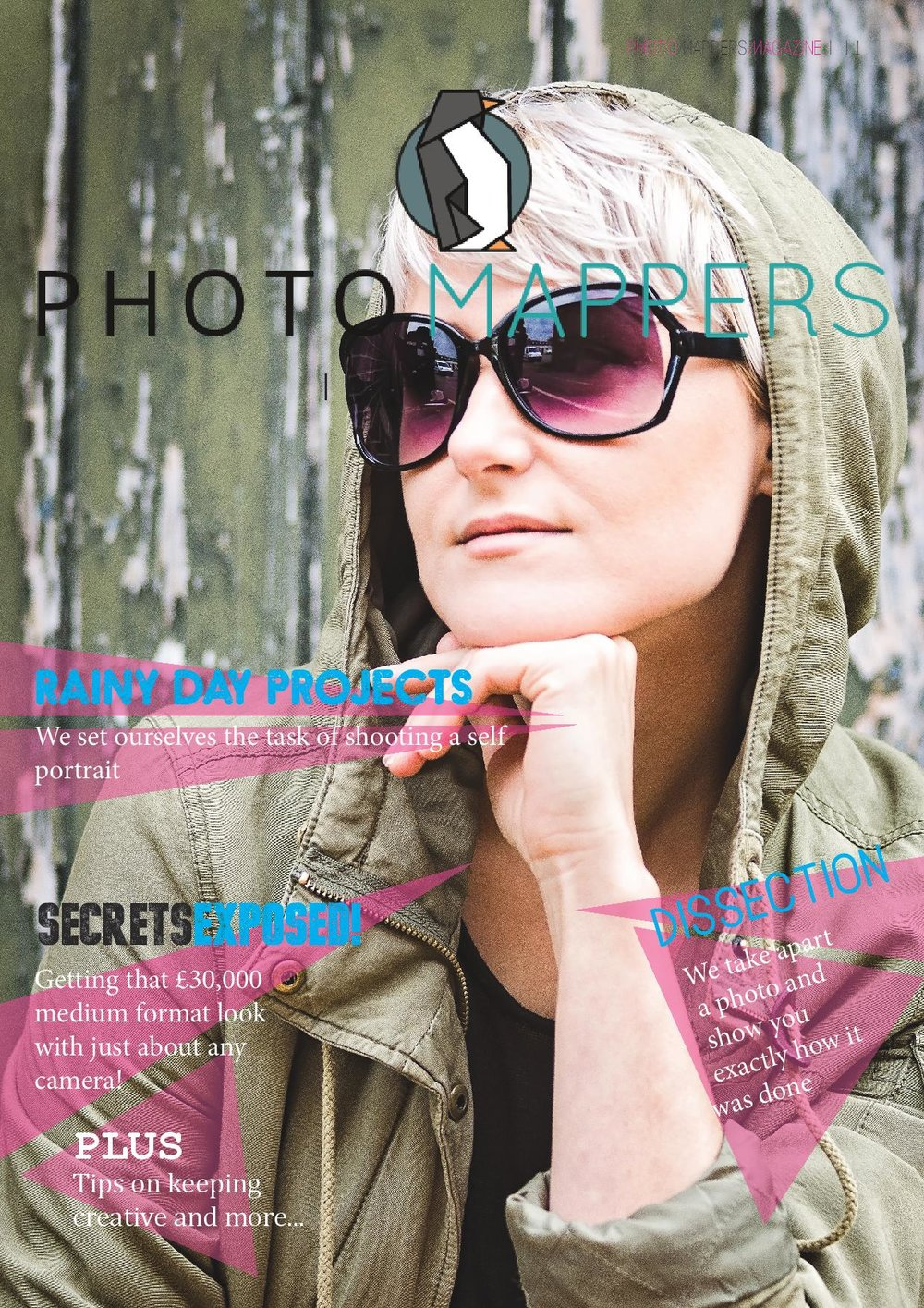 Issue 2 - Photomappers magazine issue 2. This issue is focused on portraits and helping you improve your photography. Instantly.