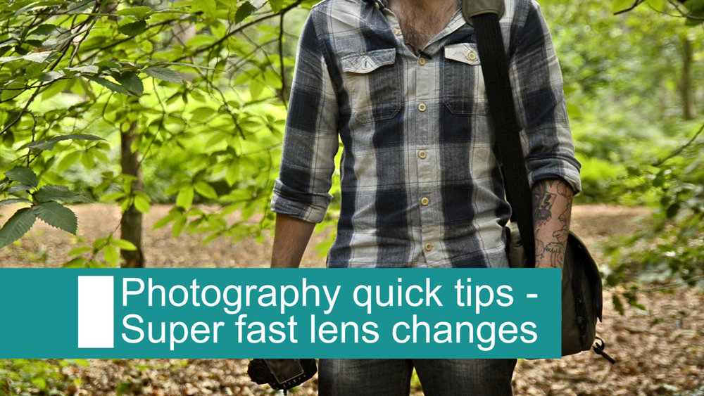 How to change camera lenses super fast -