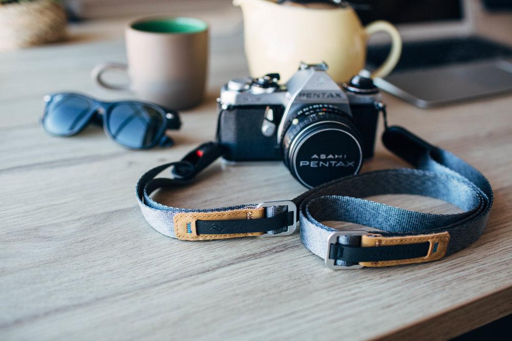 Peak Design Leash camera strap with Hypalon sliders