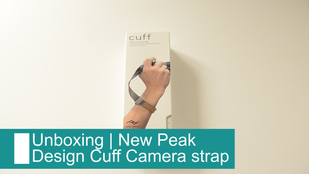New Peak Design Cuff camera strap unboxing -