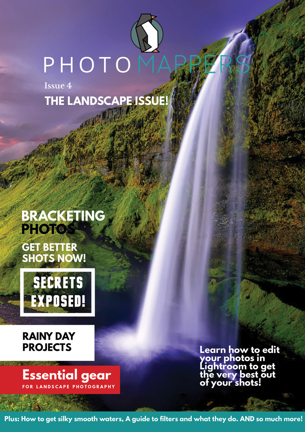 Issue 4. The landscape issue. - Here we have our forth instalment of Photomappers magazine. As you can guess from it's title, it's a landscape photography one! (we throw in some cityscapes and seascapes too) Come, dive in and give it a read! Improve your photography. Instantly.