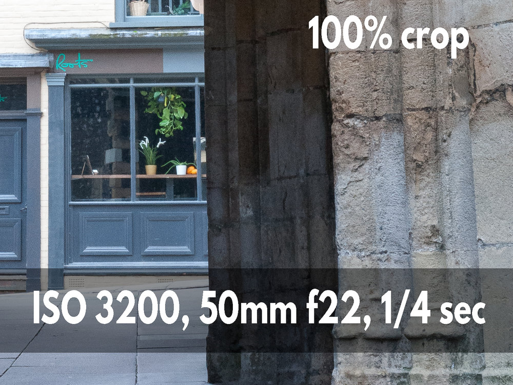 ISO 3200 crop example photo Nikon D700