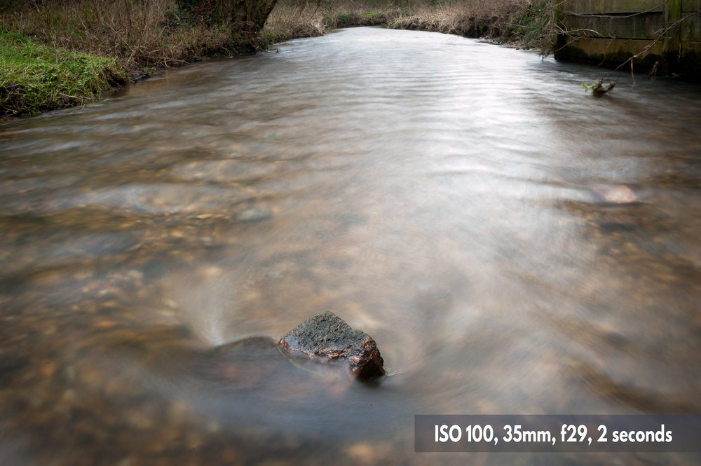 2 second shutter speed exposure to capture motion Nikon D700 photo