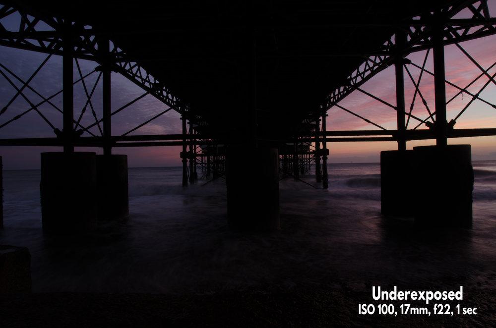 Raw underexposed example photo Nikon D7000