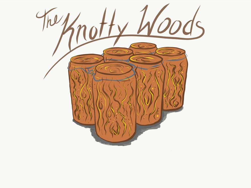 JUNE 15   THE KNOTTY WOODS