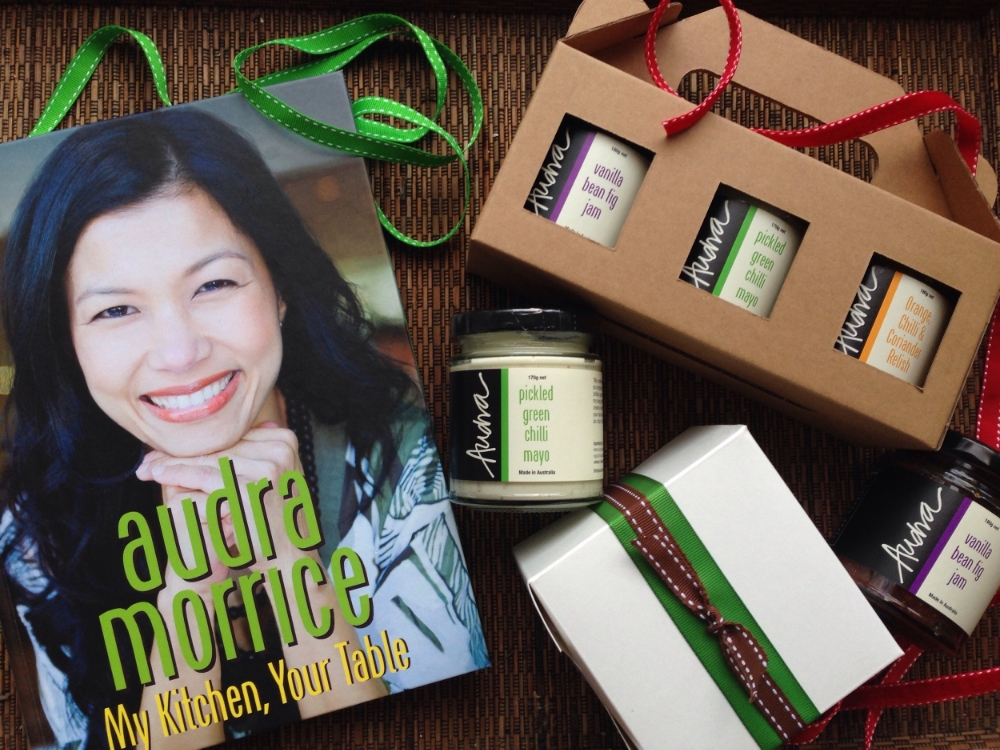 Corporate gift packs - to discuss your requirements, please email info@audramorrice.com.au