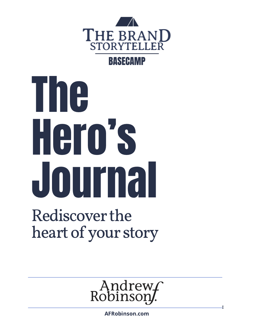 The Hero's Journal_AndrewRobinson