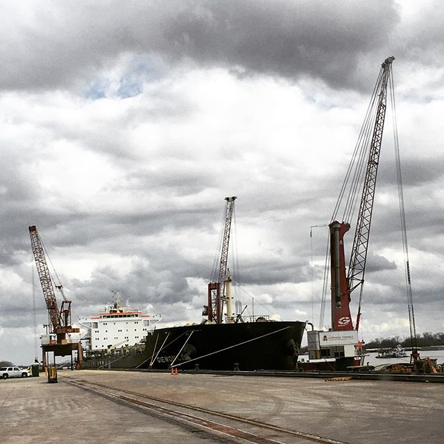 #ports #infrastructure #Louisiana