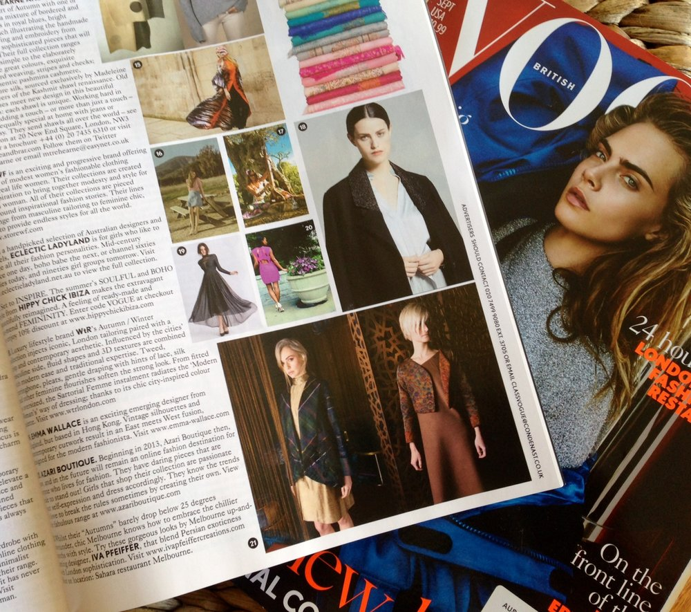 Vogue, September 2016
