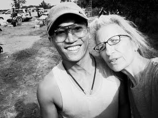 Annie Leibovitz and I. Taken by Annie, 2008.