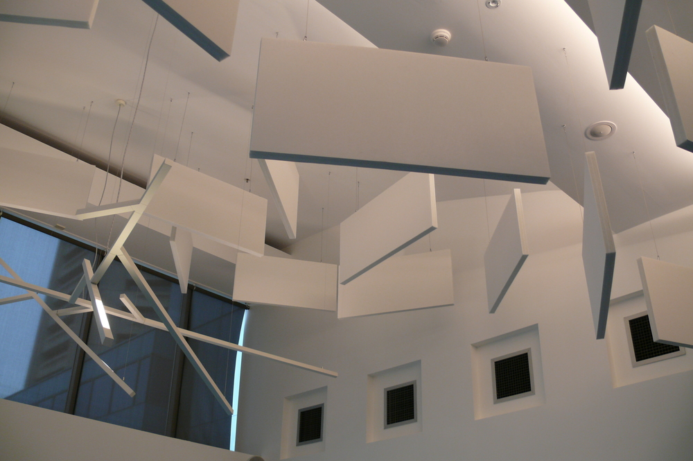 Ceiling baffles.JPG