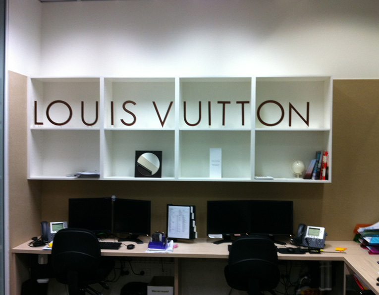 Louis Vuitton fitout