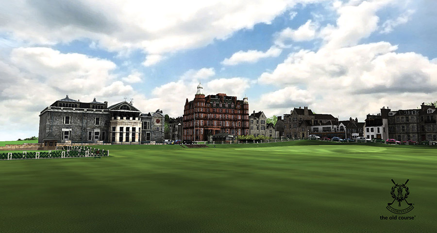 The 18th Green at St Andrews Links The Old Course®