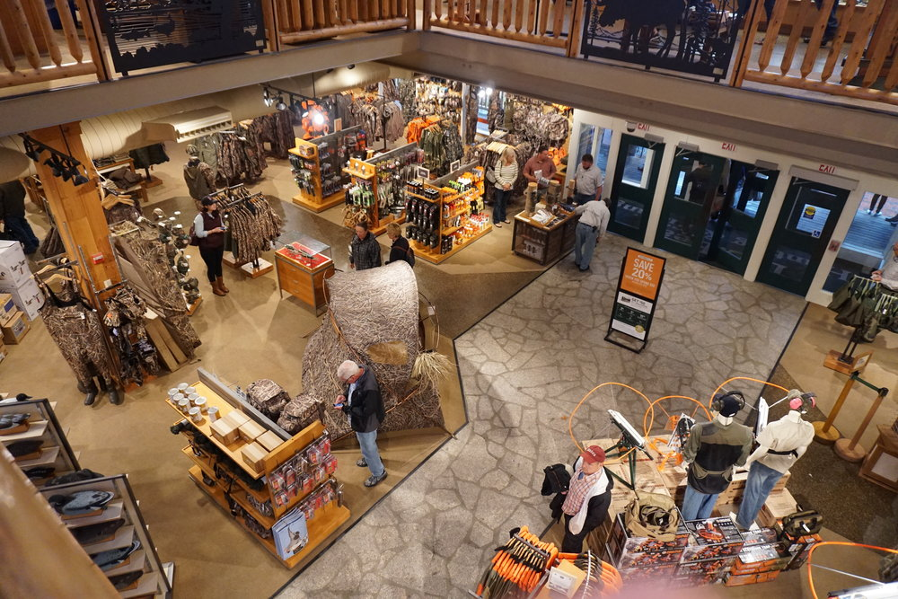 We made sure to hit the L.L. Bean flagship store on our way back from Maine to Boston for our flight. L.L. Bean isn't as big of deal in the PNW, but it's huge in New England. Their flagship is kind of like REI meets Cabelas.