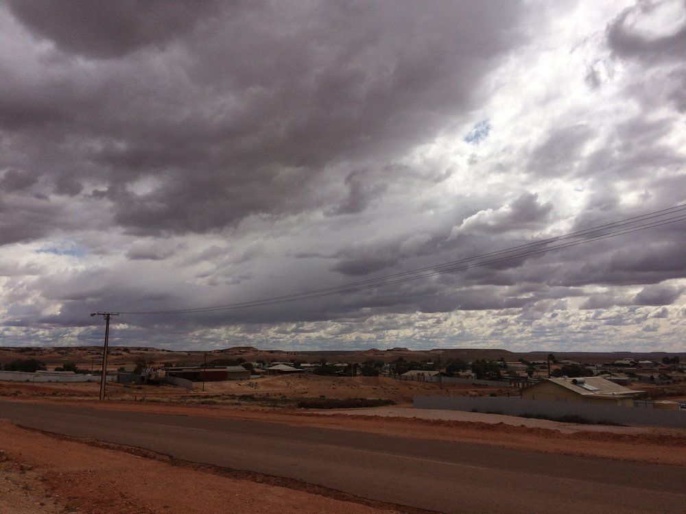 The road South from Coober Pedy