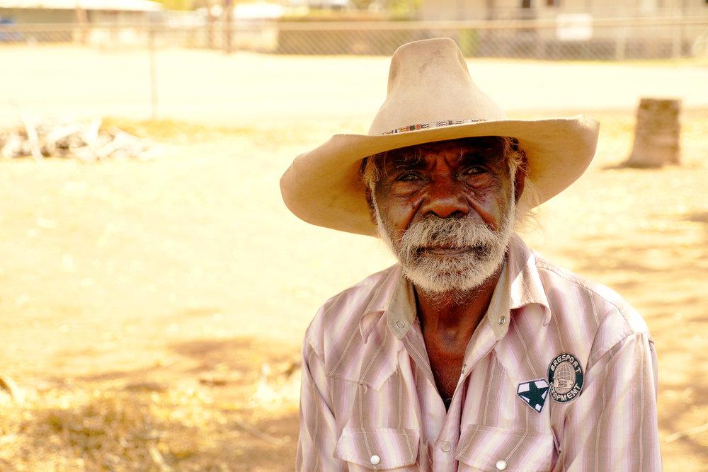 Gurindji Elder Gus George